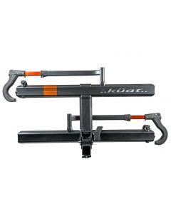 Kuat - Sherpa 2.0 - 1.25in. - 2-Bike Rack - Gray Metallic