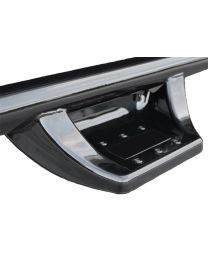 N-FAB - N-durastep Nerf Step Bar Wheel To Wheel W/bed Access; Satin Black; 6 Step; - NDC15105CC-6