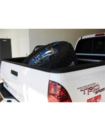 N-FAB - Bed Mounted Tire Carrier; Blue; - BM1TCBL