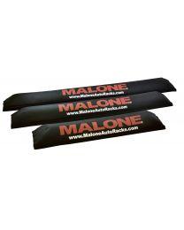 Malone - Aero25  25in. Aero Bar Rack Pads (set of 2)