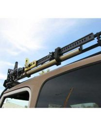 Garvin Wilderness - Hi-Lift Jack Mount, Roof Rack, 4in. H Rack - 29904