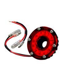 KC Hilites - Cyclone LED Light - KC #1353 (Red) - 1353