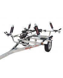 Malone - 1-Trailer, 1-Spare Tire Kit, 2 - JPro2, 2-Tray Style Bike Racks