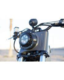 """KC Hilites - 4"""" Round LZR LED Single Light - Black - KC #1300 - 1300"""