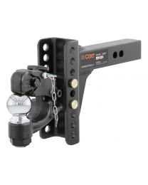 "Curt - Adjustable Channel Mount with 2-5/16"" Ball & Pintle (2"" Shank, 13,000 lbs.) - 45907"