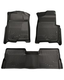 Husky Liners - Front & 2nd Seat Floor Liners (Footwell Coverage) - 98331