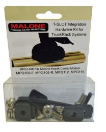 Malone - T-Slot Mounting Kit for Aero Style Bars (MPG110, 112, 115, 119)