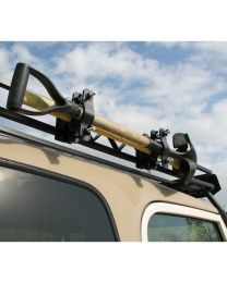 Garvin Wilderness - Combo Ax & Shovel Mount, Roof Rack, 4in. H Rack - 29924