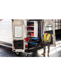 Decked - Cargo Van Storage System 14-pres Ram Promaster 136 Inch Decked - Vnra13prom55