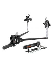 "Curt - Short Trunnion Bar Weight Distribution Hitch Kit (10K - 15K lbs., 28-3/8"" Bars) - 17422"