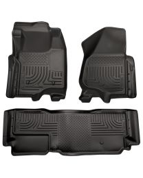 Husky Liners - Front & 2nd Seat Floor Liners (Footwell Coverage) - 98721