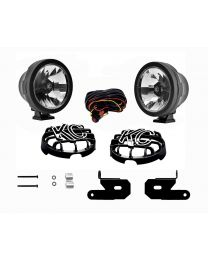 KC Hilites - KC 2018-2019 Jeep JL A-Pillar Gravity LED Pro-Sport (Wide-40) Light Kit - #97117 - 97117