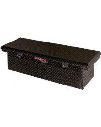TrailFX - Crsovr Angled Sgl Lid Pwdr Ctd Black 16 Gauge Alum 63x19.25x13.5 W/Tray - 120632