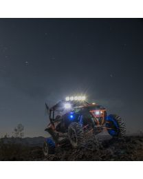 KC Hilites - Gravity LED Pro6 Polaris RZR 5-Light Combo LED Light Bar - #91309 - 91309