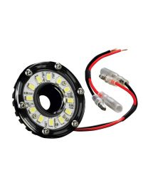 KC Hilites - Cyclone LED Light - KC #1350 (Clear) - 1350