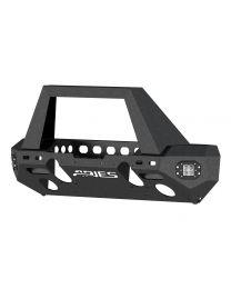 Aries - TrailChaser Jeep Wrangler JK Front Bumper (Option 1) - 2082043