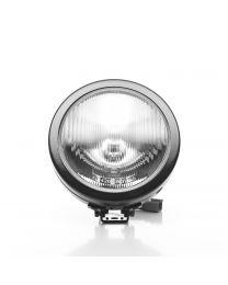 "KC Hilites - 6"" SlimLite Halogen Single Light - Black - KC #1124 (Spread Beam) - 1124"