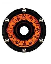 KC Hilites - Cyclone LED Rock Light Kit, Jeep JK/JL 6 PC Amber – #91026 - 91026