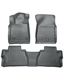 Husky Liners - Front & 2nd Seat Floor Liners (Footwell Coverage) - 99582