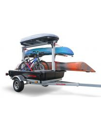 Malone - Sherpa Sport Utility Trailer w/Multi Tier Racking System