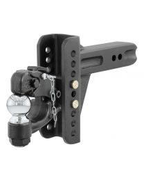 "Curt - Adjustable Channel Mount with 2-5/16"" Ball & Pintle (2-1/2"" Shank, 20,000 lbs.) - 45908"
