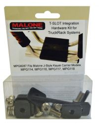 Malone - T-Slot Mounting Kit for Aero Style Bars (MPG114, 116, 117, 118)