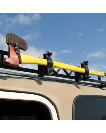 Garvin Wilderness - Single Ax or Shovel Mount, Roof Rack, 4in. H Rack - 29914