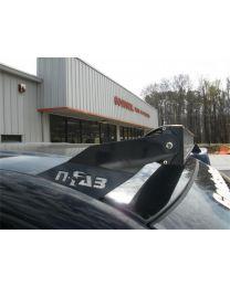 N-FAB - Roof Mounted Light Brackets; Textured Black; For Use W/49 To 50 1/2 In. Light Bar; Inside Door Frame Mount; - D0249LR-TX