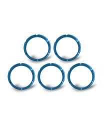 KC Hilites - KC FLEX Bezels - Blue ED Coated (5 pack) - 30563