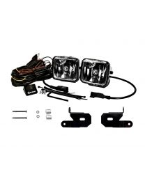 KC Hilites - KC 2018-2019 Jeep JL A-Pillar Gravity LED G34 (Driving Beam) Light Kit - #97118 - 97118
