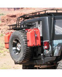 Garvin Wilderness - G2 Series Rear Bumper & Swing-Away System, JK - 66701