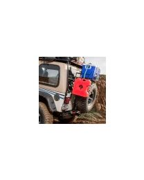 Garvin Wilderness - Classic Series Bumper & Tire Carrier, YJ/TJ - 34900