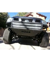 N-FAB - Rsp Replacement Front Bumper; Holds Up To Two 38 In. Lights; For Led Light Bars; Textured Black; - N042LRSP-TX
