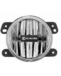 KC Hilites - Gravity LED G4 Fog Light Single-Amber-Jeep JK (2010 - 2018) - 1498