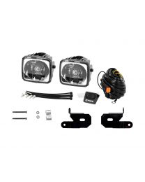 KC Hilites - KC 2018-2019 Jeep JL A-Pillar Gravity LED G34 (Wide-40 Beam) Light Kit - #97119 - 97119