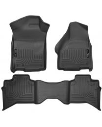 Husky Liners - Front & 2nd Seat Floor Liners - 99011