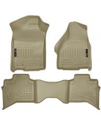 Husky Liners - Front & 2nd Seat Floor Liners - 99013