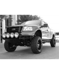 N-FAB - Rsp Replacement Front Bumper; W/skid Plate; Standard Light Mount; Textured Black; - F044RSP-TX