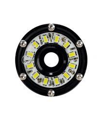 KC Hilites - Cyclone LED Rock Light Kit, Jeep JK/JL 6 PC Clear – #91025 - 91025