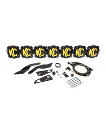 "KC Hilites - Gravity LED Pro6 17-19 Can-Am Maverick X3 7-Light 45"" LED Light Bar - #91334 - 91334"