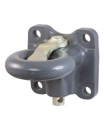 "Curt - SecureLatch Flush-Mount Lunette Ring (60,000 lbs., 2-1/2"" I.D.) - 48661"