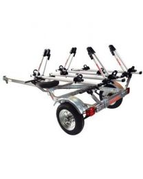 Malone - 1-Trailer, 1-Spare Tire Kit, 4 - Tray Style Bike Racks
