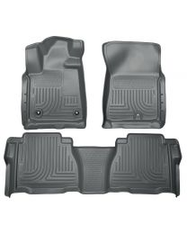 Husky Liners - Front & 2nd Seat Floor Liners (Footwell Coverage) - 99592
