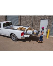 Cargoglide - Slide Out Truck Bed Tray 1000 Lb Capacity 75 Percent Extension 6 Bearings Alum Tie-down Rails Plywood Deck Fits Avalanche/escalade Ext (drill Application) - Cg1000-5748
