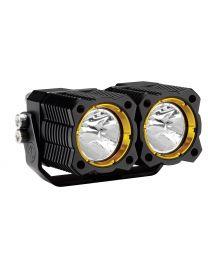 KC Hilites - KC FLEX LED Dual Spot Light (ea) - No Harness - #1267 - 1267