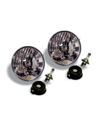 "KC Hilites - 7"" Halogen H4 DOT Headlight Pair Pack System for 97-06 Jeep TJ - #42301 - 42301"