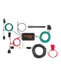 Curt - Custom Wiring Harness (4-Way Flat Output) - 56395