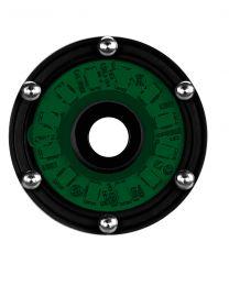 KC Hilites - Cyclone LED Rock Light Kit, Jeep JK/JL 6 PC Green – #91029 - 91029