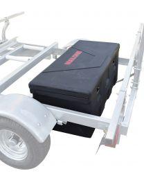 Malone - MegaSport Trailer Plastic Storage Trunk w/Mounting Hrdwr