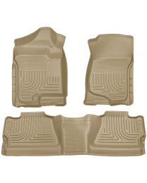 Husky Liners - Front & 2nd Seat Floor Liners (Footwell Coverage) - 98203